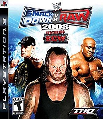 WWE Smackdown Vs Raw 2008 (bazar, PS3) - 129 Kč