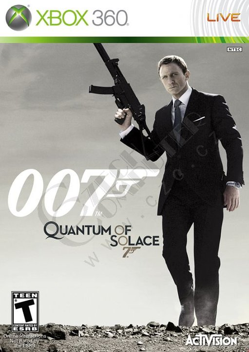 James Bond Quantum of Solace (bazar, X360) - 159 Kč