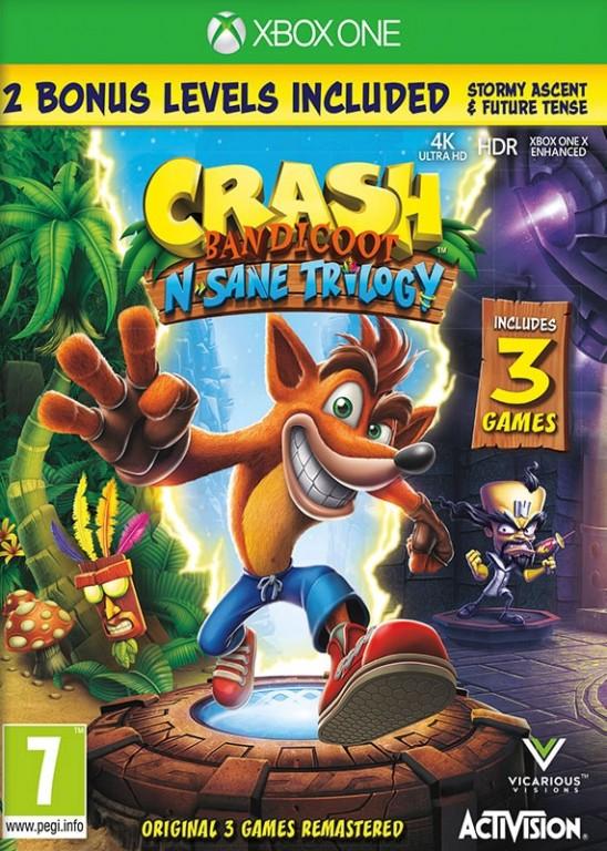 Crash Bandicoot N Sane Trilogy (bazar, XOne) - 449 Kč
