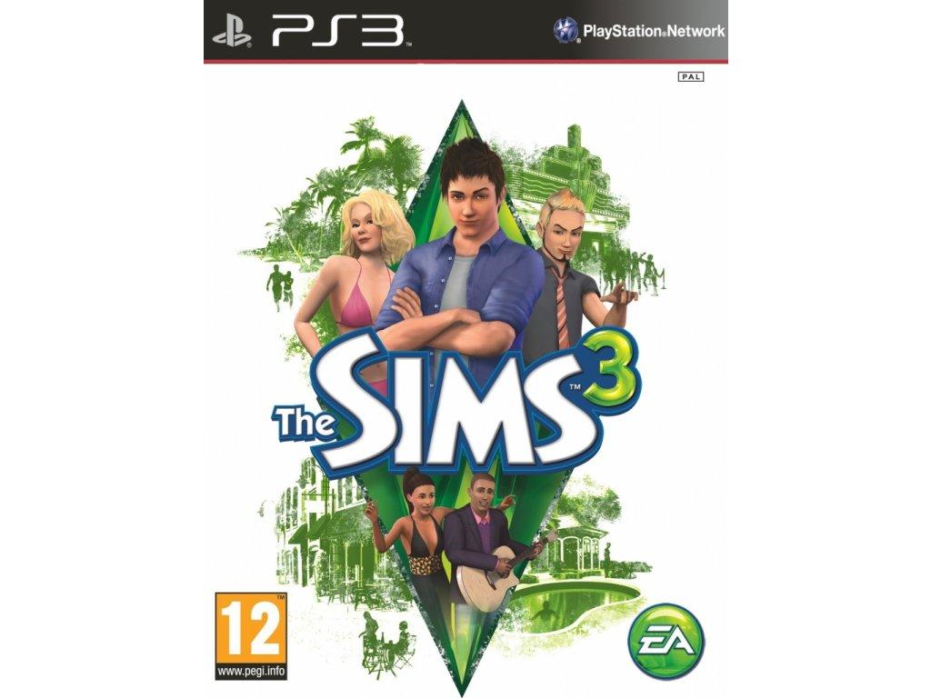 The Sims 3  (bazar, PS3) - 399 Kč