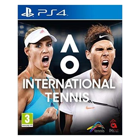 AO International Tennis (bazar, PS4) - 599 Kč