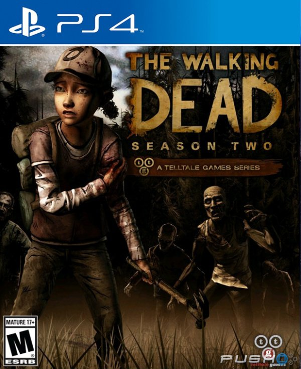 The Walking Dead Season Two (bazar, PS4) - 459 Kč