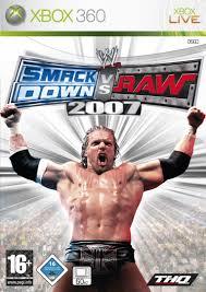 WWE SmackDown vs RAW 2007 (bazar, X360) - 159 Kč