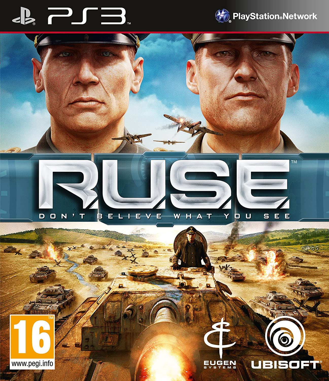 RUSE Dont Believe What You See MOVE  (bazar, PS3) - 199 Kč