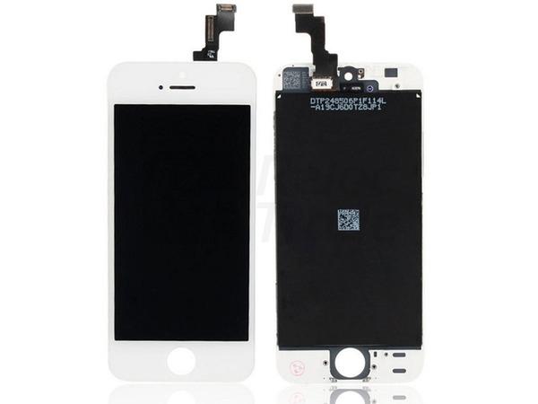 LCD a dotykový displej na iPhone 5S White - nové - 559 Kč