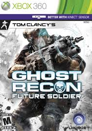 Tom Clancys Ghost Recon Future Soldier (KINECT, X360) - 129 Kč