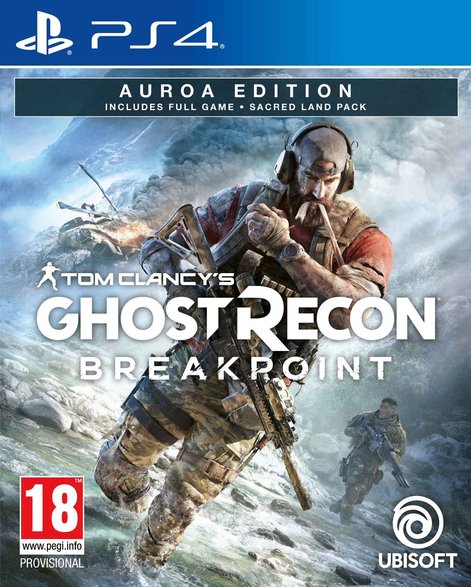Tom Clancys Ghost Recon Breakpoint (bazar, PS4) - 559 Kč