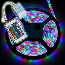 USB LED barevný  pás 5m, RGB, dálkový ovladač - nové - 499 Kč
