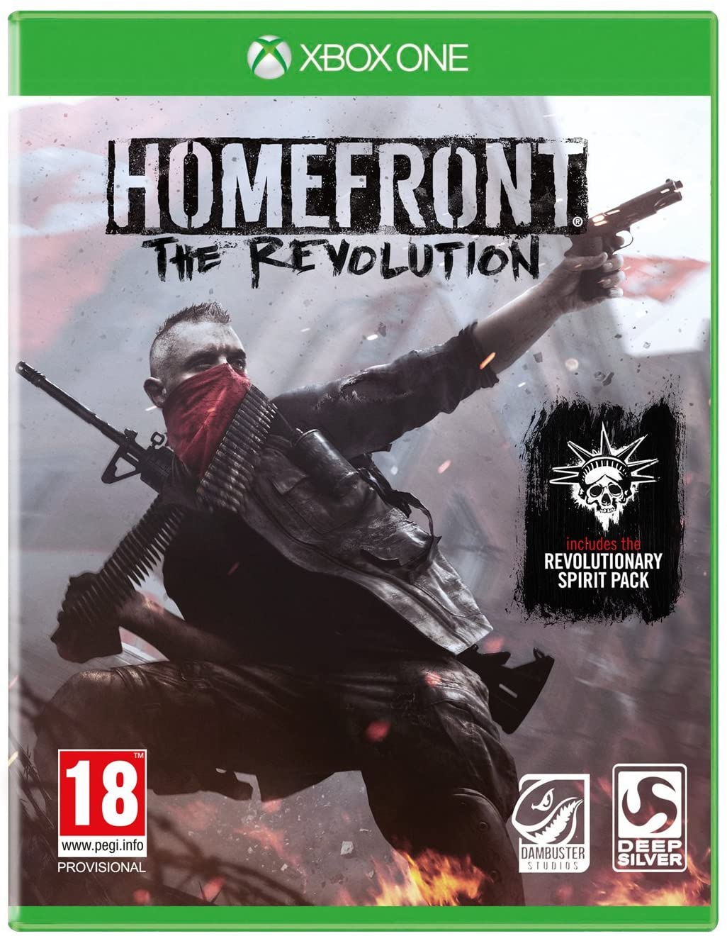 Homefront The Revolution (bazar, XOne) - 259 Kč