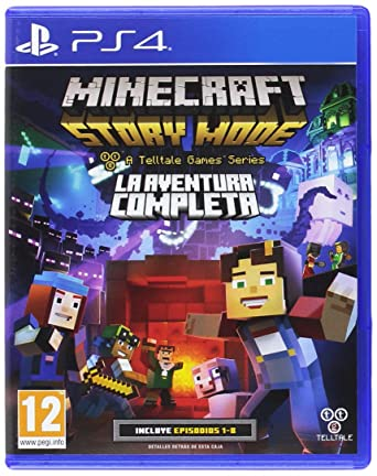 Minecraft Story Mode The Complete Adventure (bazar, PS4) - 599 Kč