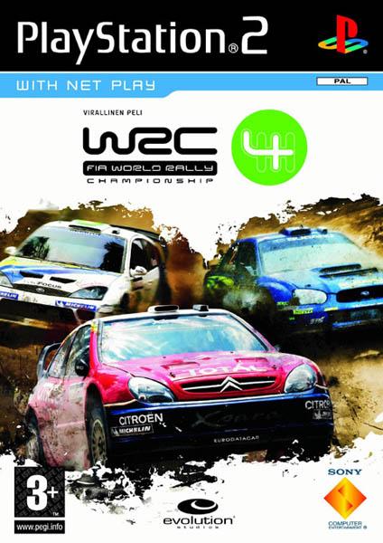 WRC Fia World Rally Championship 4 (bazar, PS2) - 199 Kč