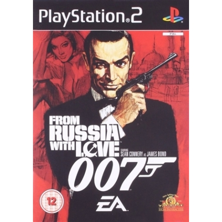 James Bond 007 From Russia With Love (bazar, PS2) - 129 Kč