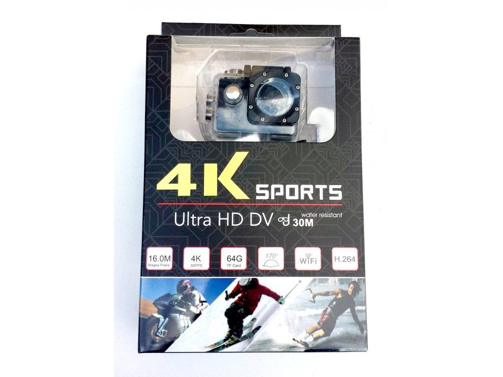 Outdoorová action 4K ULTRA HD kamera - SILVER - 699 Kč