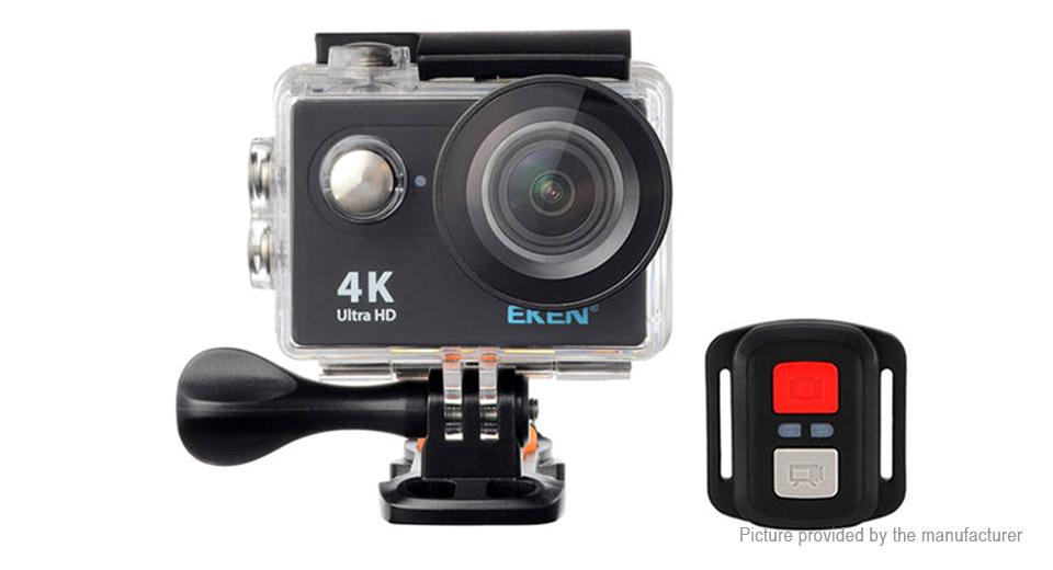 Outdoorová action 4K ULTRA HD kamera + dalkový ovladač - Bílá - 799 Kč