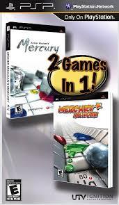 Archer Mecleans Mercury and Mercury Meltdown (bazar, PSP) - 159 Kč