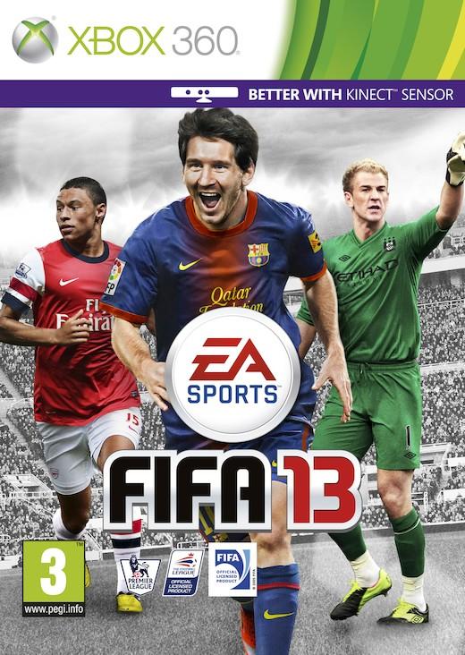 FIFA 13 Kinect(bazar, X360) - 69 Kč