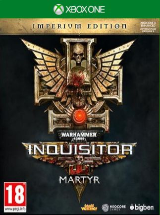 Warhammer 40,000 Inquisitor  Martyr  (bazar,XOne) - 299 Kč