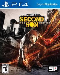 inFamous Second Son (bazar, PS4) - 259 Kč