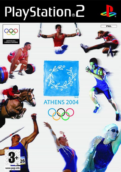 Athens 2004 (bazar, PS2) - 159 Kč