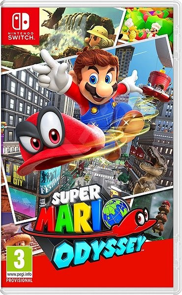 Super Mario Odyssey (bazar) - 899 Kč