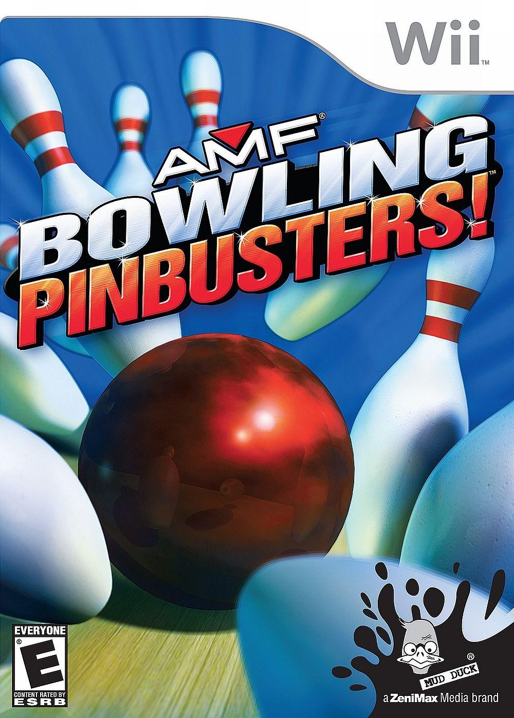 AMF Bowling Pinbusters! (bazar, Wii) - 399 Kč