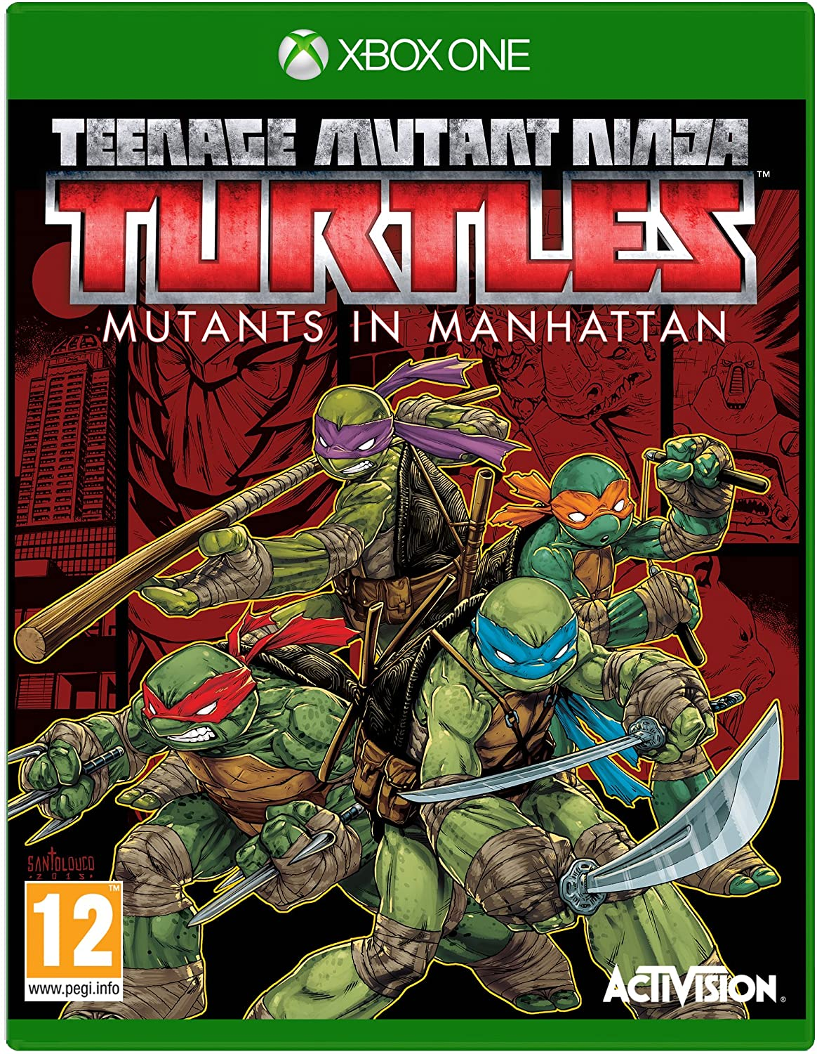 TMNT Teenage Mutant Ninja Turtles Mutants in Manhattan (bazar, XOne) - 559 Kč