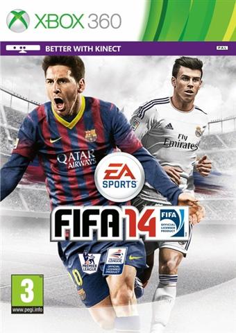 FIFA 14 Kinect  (bazar, X360) - 89 Kč