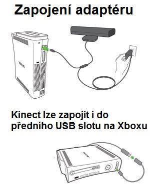 Přídavné napájení pro Kinect k Xbox360  (bazar, X360) - 299 Kč