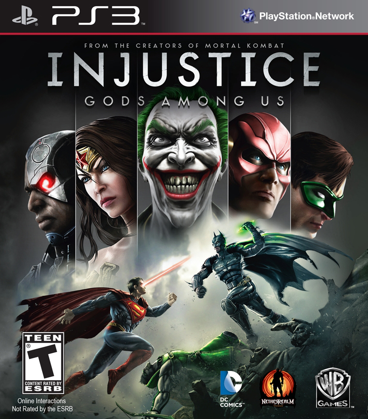 Injustice Gods Among Us  (bazar, PS3) - 259 Kč