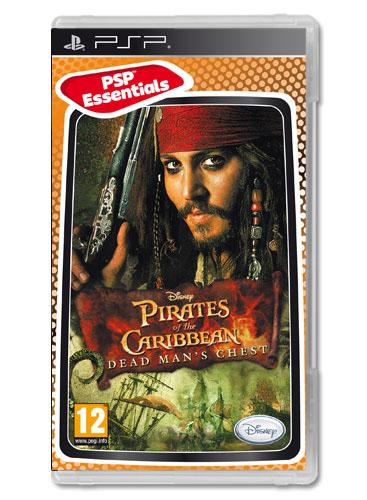 Pirates of the Caribbean Dead Mans Chest (bazar, PSP) - 199 Kč