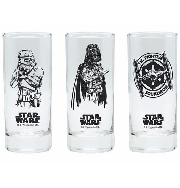Set sklenic Star Wars (3 ks) - nové - 429 Kč