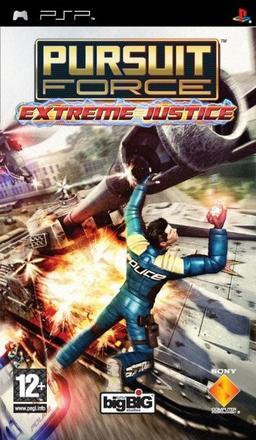 Pursuit Force  Extreme Justice (bazar, PSP) - 179 Kč