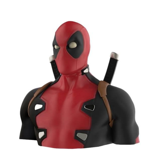 Pokladnička Deadpool - nové - 759 Kč