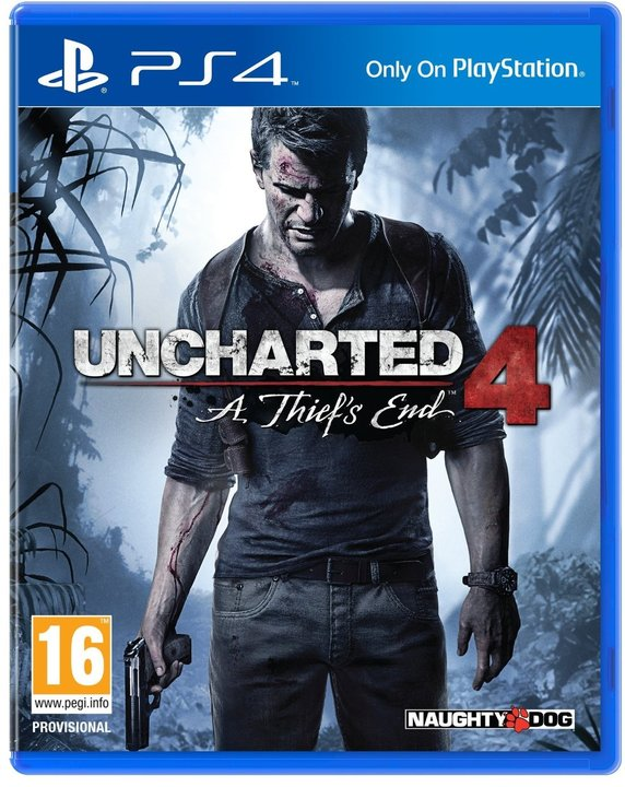 Uncharted 4 A Thiefs End (bazar, PS4) - 189 Kč