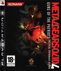 Metal Gear Solid 4  Guns of The Patriots (bazar, PS3) - 99 Kč