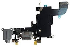 iPhone 6S nabíjecí konektor se sluchátkovým jackem a flexem, šedý - nové - 199 Kč