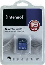 Intenso 16 GB SDHC Class 4 Memory Card (nové) - 159 Kč