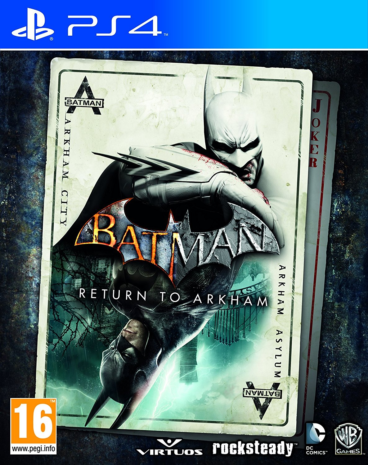 Batman Return to Arkham  (bazar, PS4) - 349 Kč
