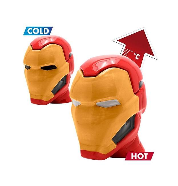 Hrnek Marvel 3D - Iron Man, měnící se- nové - 399 Kč