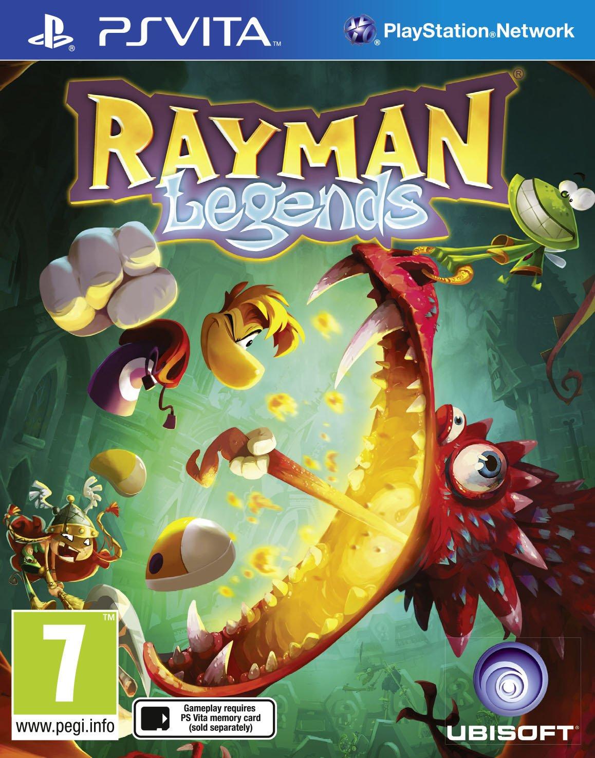 Rayman Legends  (bazar, PSV) - 359 Kč