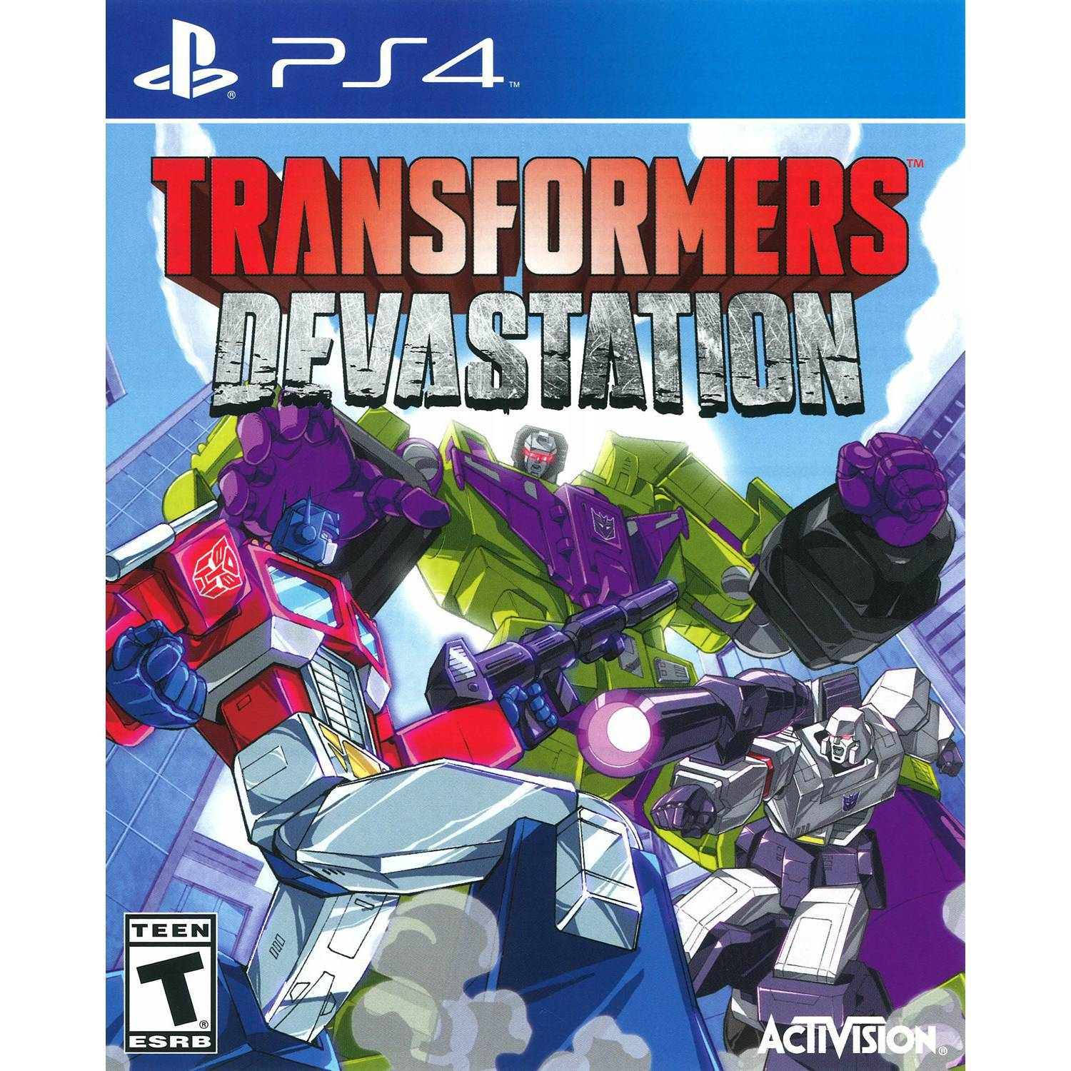 Transformers Devastation (bazar, PS4) - 259 Kč
