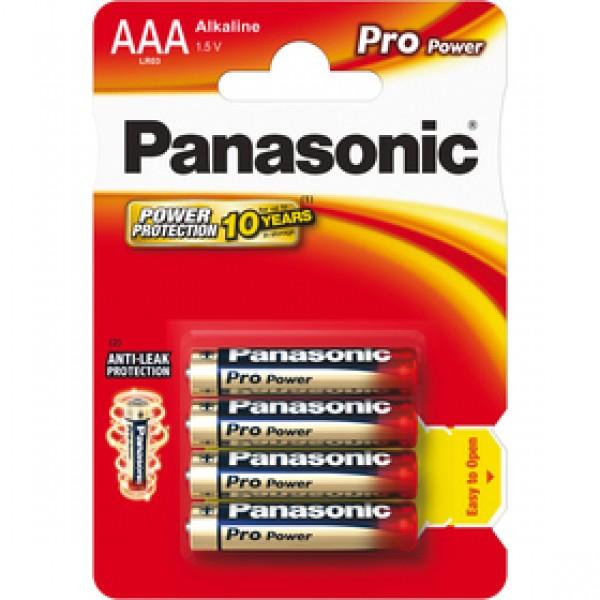 Panasonic LR03 4BP AAA Pro Power alk - 89 Kč