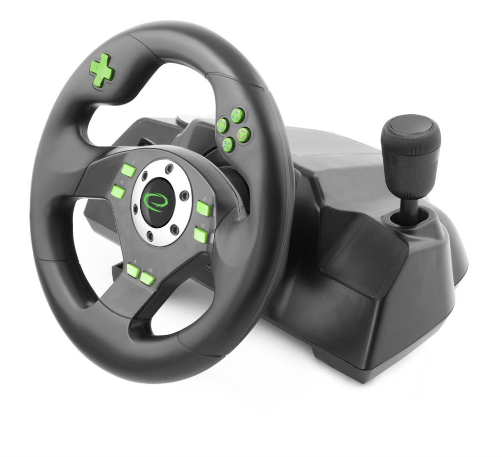 Esperanza EGW101 DRIFT herní volant s vibracemi pro PC/PS3 (nový) - 1199 Kč