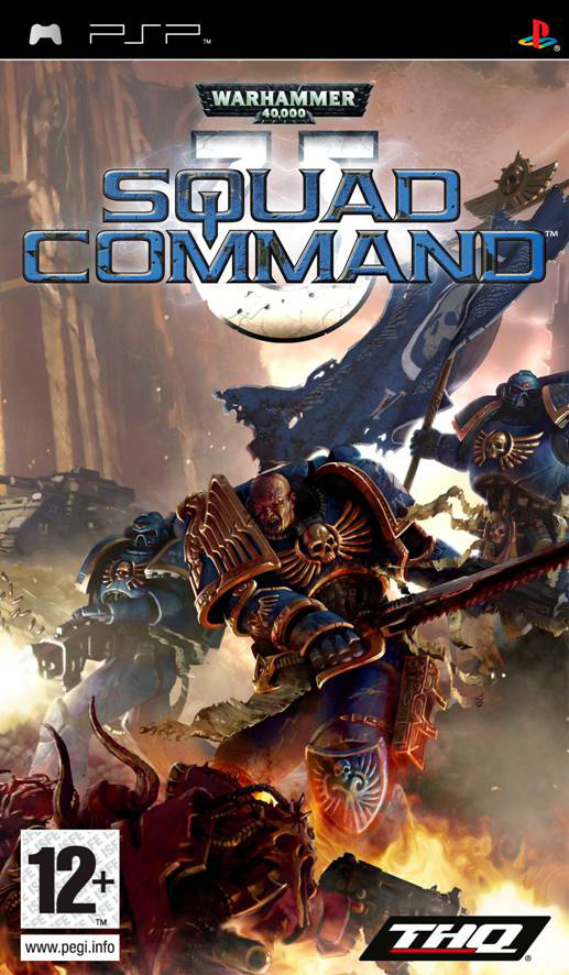 Warhammer 40,000 Squad Command  (bazar, PSP) - 199 Kč