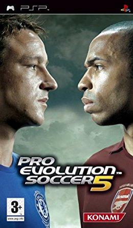 Pro Evolution Soccer 5 (bazar, PSP) - 129 Kč