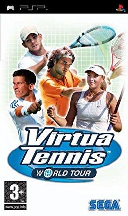 Virtua Tennis World Tour (bazar, PSP) - 159 Kč
