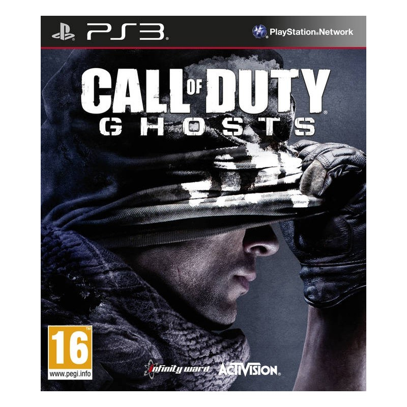 Call of Duty Ghosts (nová, PS3) - 169 Kč