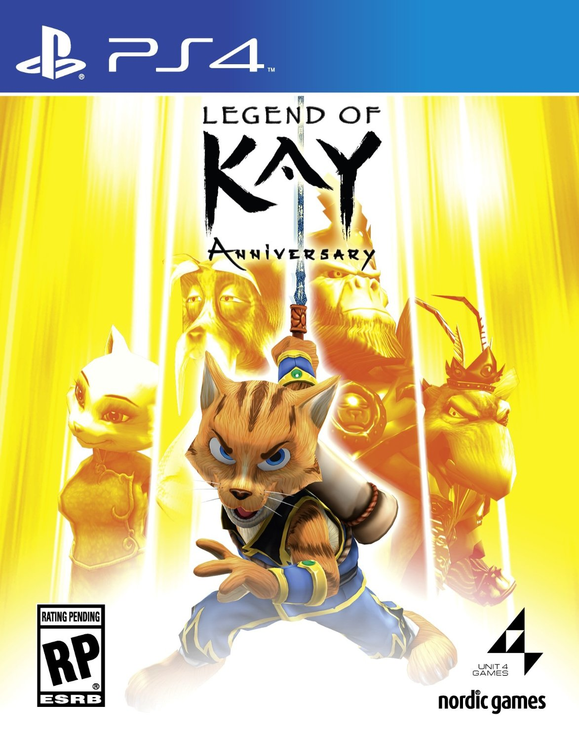 Legend of Kay Anniversary  (bazar, PS4) - 249 Kč