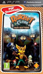 Ratchet and Clank Size Matters (bazar, PSP) - 199 Kč