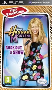 Disney Hannah Montana Rock Out the Show (bazar, PSP) - 99 Kč